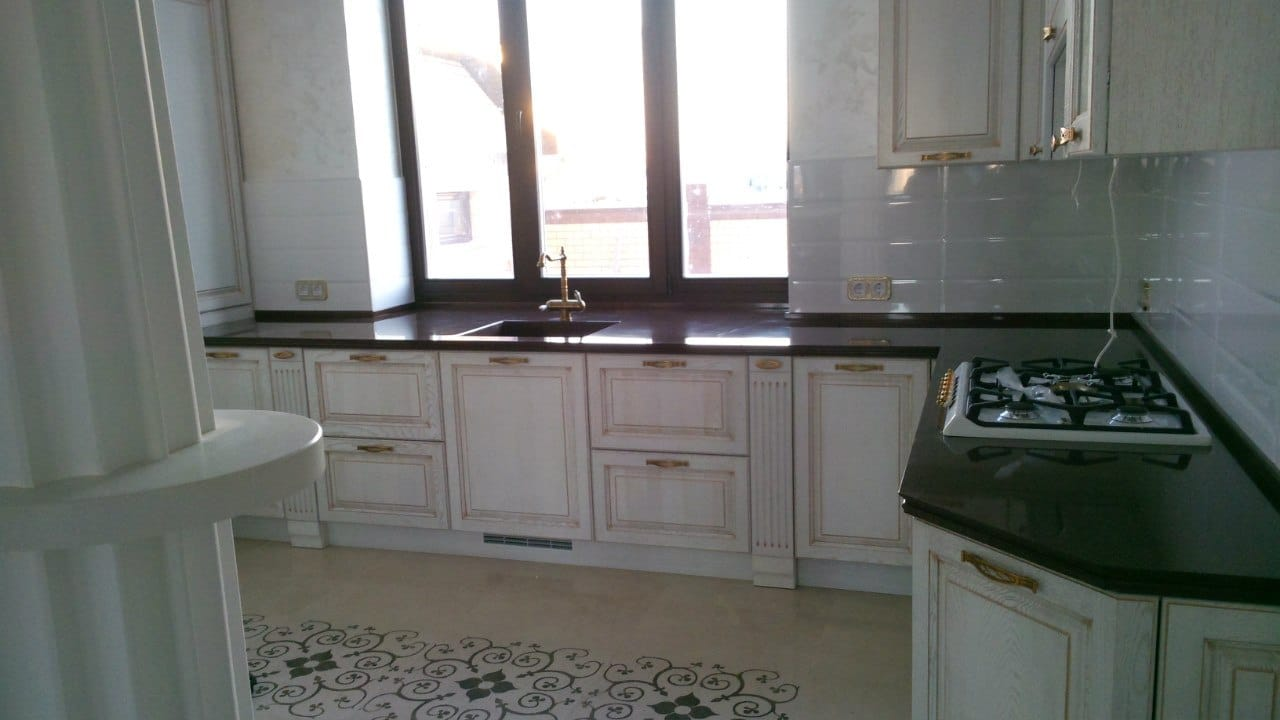Столешница для кухни бортик Барные стойки искуственный камень Ольгово