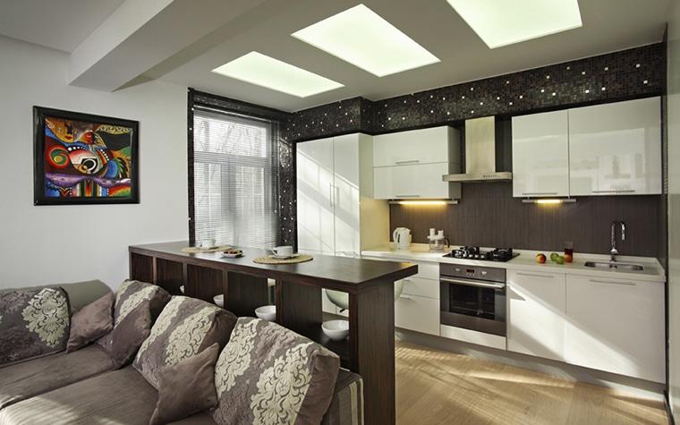 Кухня-студия – модно и практично