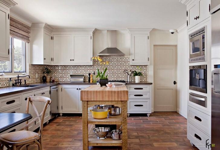 Средиземноморский стиль в интерьере кухни – творческий подход